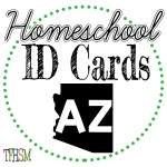 Homeschool ID Cards - Arizona