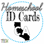 Homeschool ID Cards - California