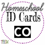 Homeschool ID Cards - Colorado