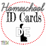 Homeschool ID Cards - Delaware