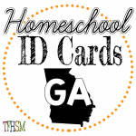 Homeschool ID Cards - Georgia