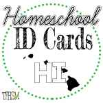 Homeschool ID Cards - Hawaii