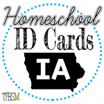 Homeschool ID Cards - Iowa