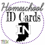 Homeschool ID Cards - Indiana