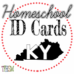 Homeschool ID Cards - Kentucky