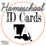 Homeschool ID Cards - Louisiana