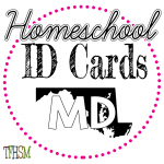 Homeschool ID Cards - Maryland