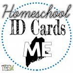 Homeschool ID Cards - Maine