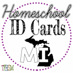Homeschool ID Cards - Michigan