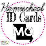 Homeschool ID Cards - Missouri