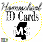 Homeschool ID Cards - Mississippi