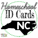 Homeschool ID Cards - North Carolina