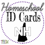 Homeschool ID Cards - New Hampshire