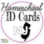 Homeschool ID Cards - New Jersey