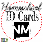 Homeschool ID Cards - New Mexico
