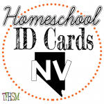 Homeschool ID Cards - Nevada