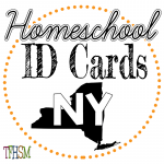 Homeschool ID Cards - New York