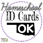 Homeschool ID Cards - Oklahoma