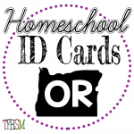 Homeschool ID Cards - Oregon