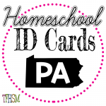 Homeschool ID Cards - Pennsylvania