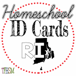 Homeschool ID Cards - Rhode Island
