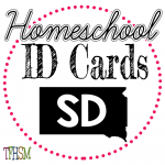 Homeschool ID Cards - South Dakota