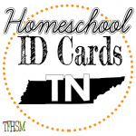 Homeschool ID Cards - Tennessee
