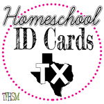 Homeschool ID Cards - Texas