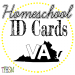 Homeschool ID Cards - Virginia