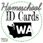 Homeschool ID Cards - Washington