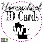 Homeschool ID Cards - Wisconsin