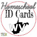 Homeschool ID Cards - West Virginia