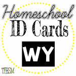 Homeschool ID Cards - Wyoming