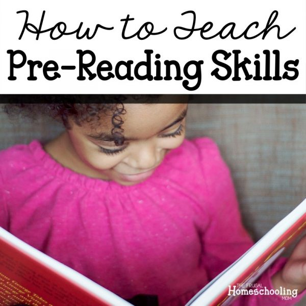 How to Teach Pre-Reading Skills to Preschoolers