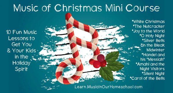 best christmas songs to study in homeschool