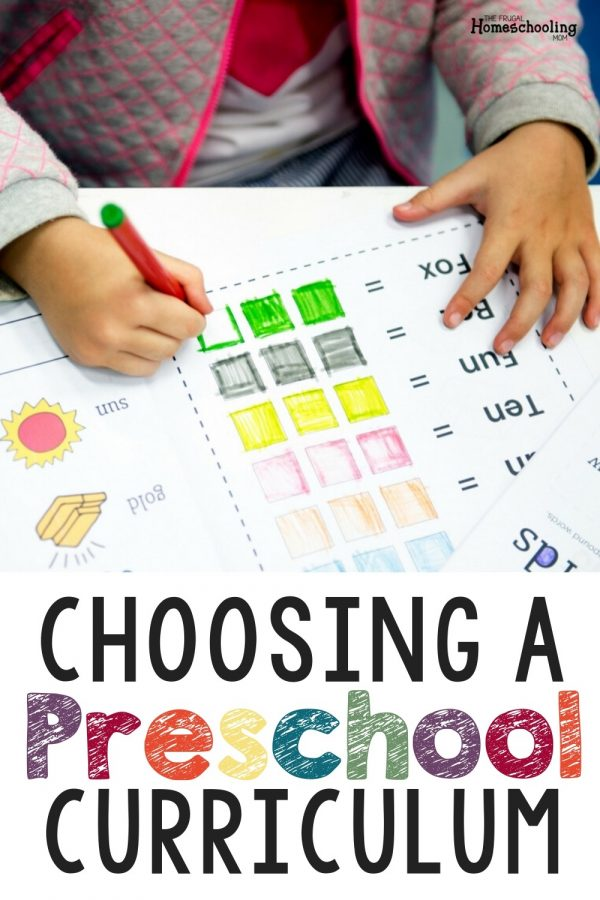 What are the Necessary Skills Before Kindergarten? Choosing Curriculum