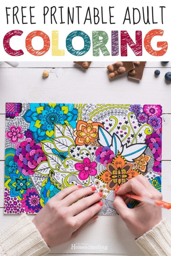 Free Printable Homeschool Coloring Pages