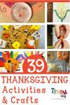 Free Thanksgiving Homeschool Activities
