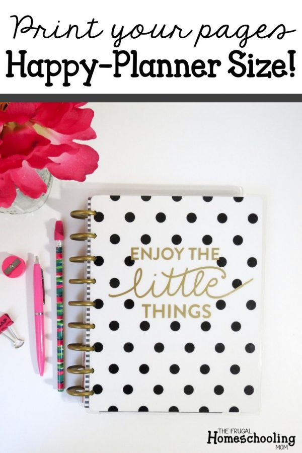 Free Happy Planner Homeschool Pages