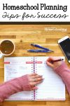 Free Lesson Planner for Homeschool Plus Planning Tips and Tricks