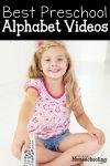 Best Letter Recognition Videos for Homeschool Preschool