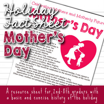 Mother's Day Fun Facts for Kids