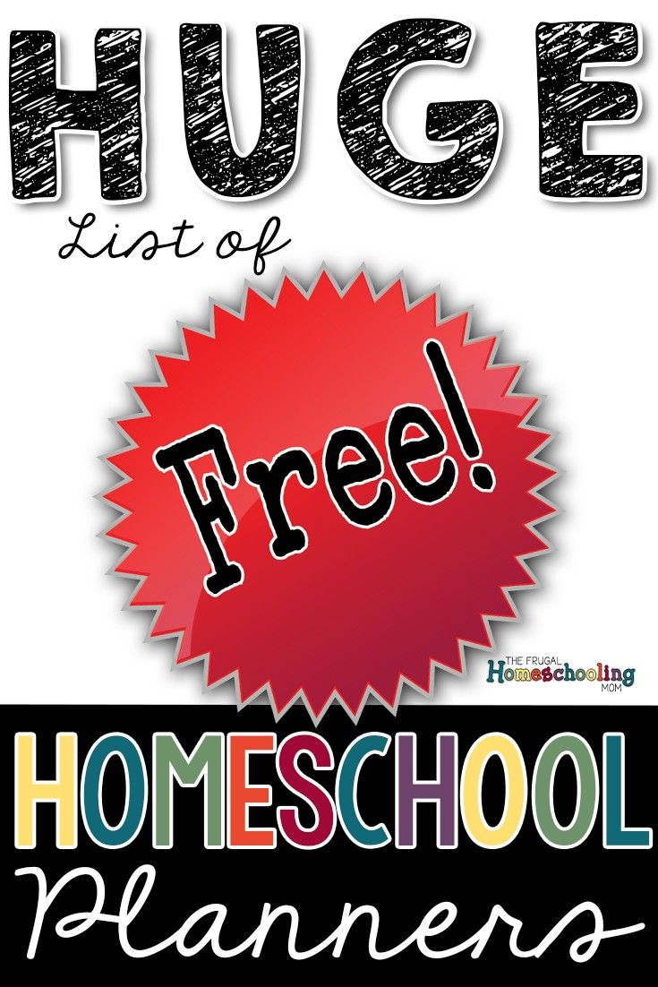 Free Homeschool Calendars and Planners