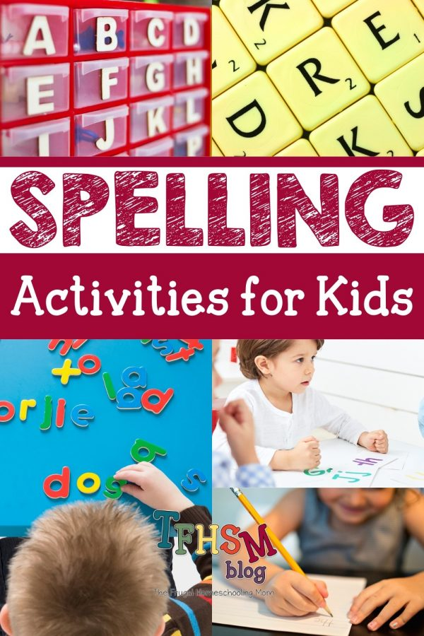 Homeschool Spelling Printables and Activities