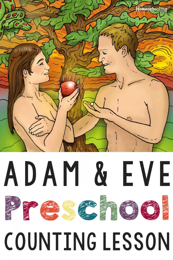 Adam and Eve Counting 1-10