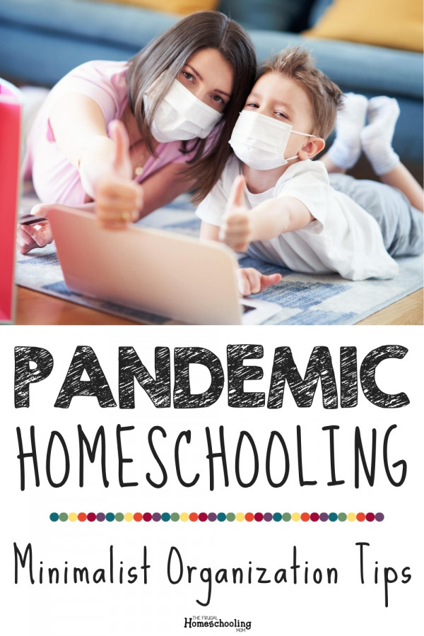 pandemic homeschooling room organization tips and tricks