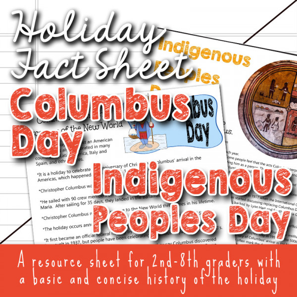 Columbus Day versus Indigenous Peoples Day: Quick Facts for Kids