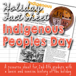 Indigenous Peoples Day Fact Sheets for kids copyright TFHSM s