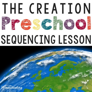 The Creation Preschool Bible Lesson