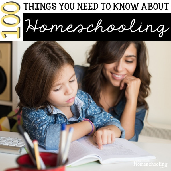 100 Things You Need to Know to Start Homeschooling